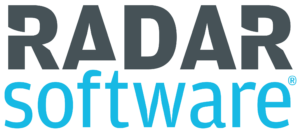 logo radar software transparant